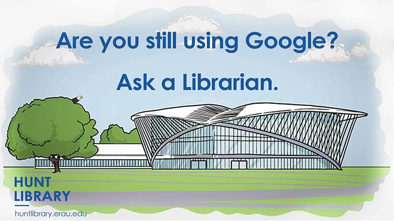 Hunt Library vs. Google